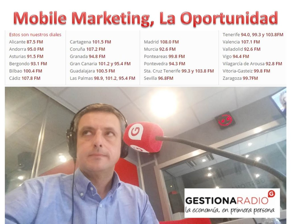 Jose Luis Alonso en Gestiona Radio, Rock and Talent