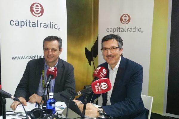 Jose Luis Alonso y Luis Vicente Muñoz, Entrevista Capital Radio