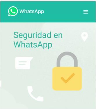WhatsApp Mas Seguro Cifrado de Datos