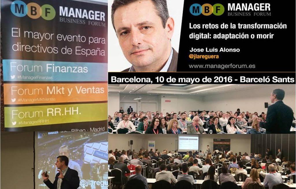 Manager Business Forum, Evento para Directivos
