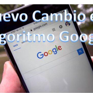 Nuevo Algoritmo de Google para Moviles