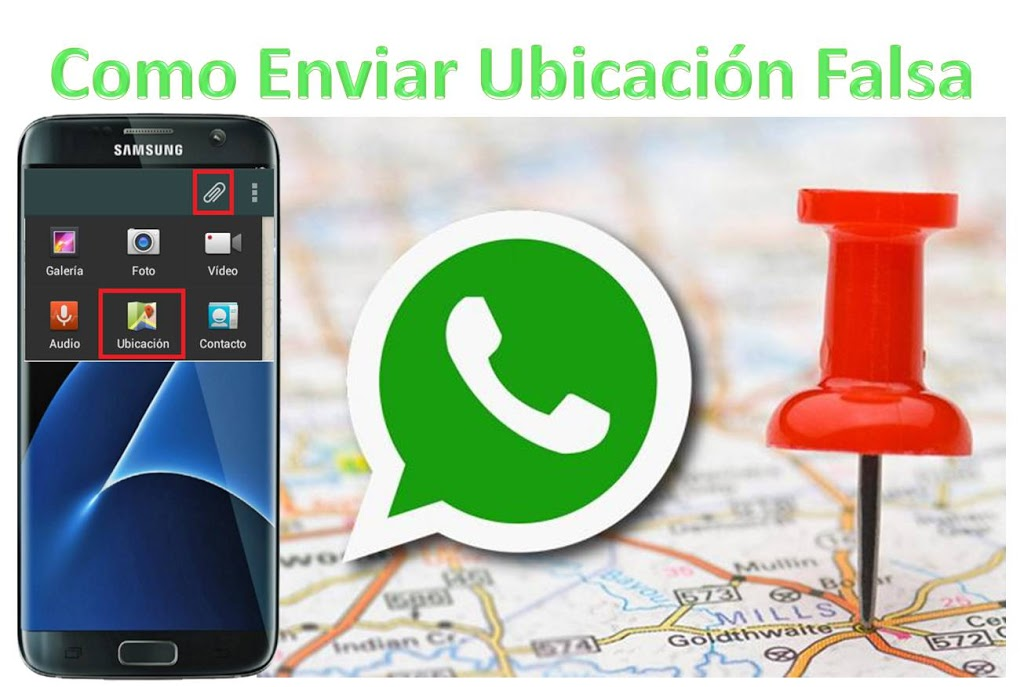 Ubicacion WhatsApp Falsa