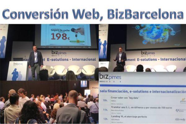 Conversión Web en BizBarcelona