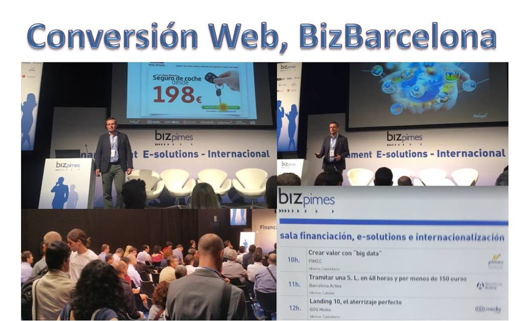 Conversion Web en BizBarcelona