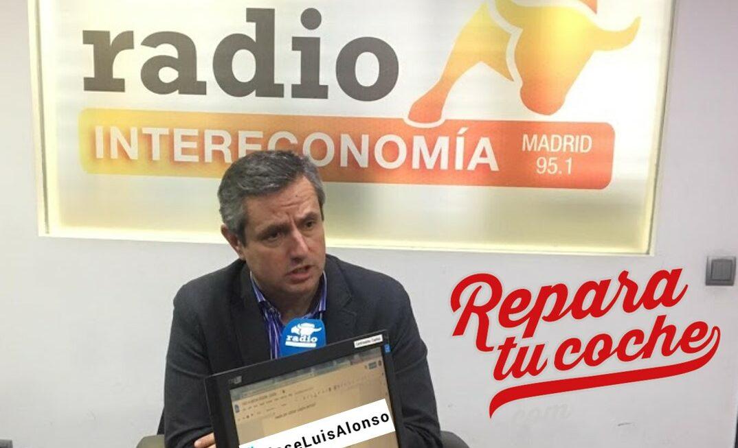Jose Luis Alonso en Intereconomía Con Reparatucoche.com
