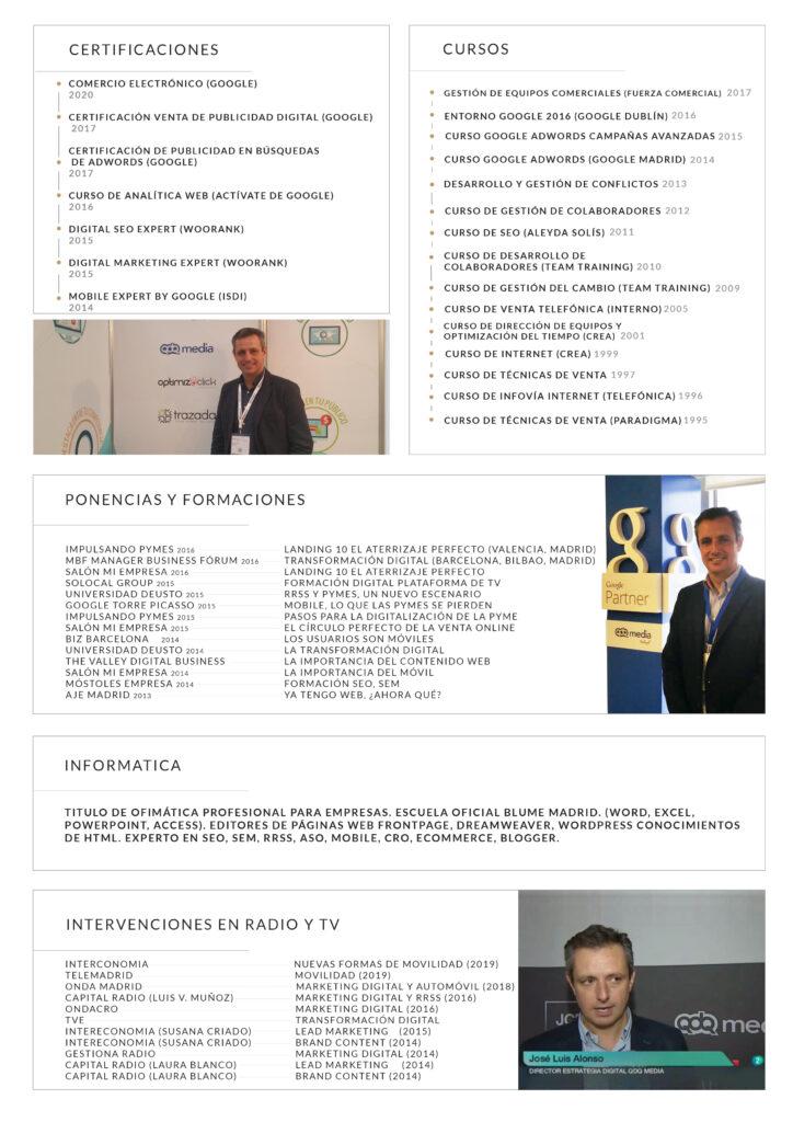 Jose Luis Alonso Conferencias